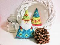 Stickdatei Bäumchen und Weihnachtsmann