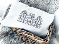 Stickdatei Doodle Holländer Haus