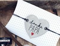 Stickdatei Papa Geschenkeschild