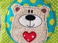 Stickdatei Doodle Button BärBel