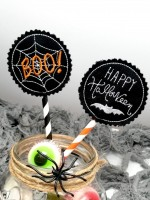 Freebie Halloween Tags