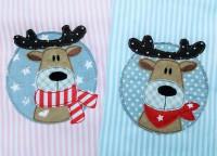 Stickdatei Doodle Horsti Button Set