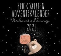 Stickdateien Adventskalender2021 Vorbestellung