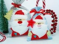 Stickdatei ITH Santa Geschenkbeutel