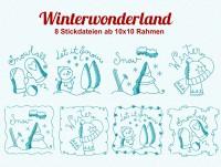 Stickdatei Winterwonderland