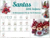 Stickdatei ITH Santas Wichtel